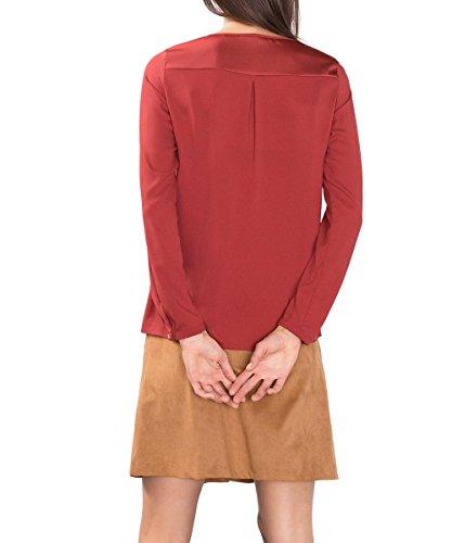 ESPRIT Collection Damen Bluse Orange (TERRACOTTA 805)