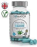 SOMATOX COLON CLEANSE - Ultimate Detox - Appetite Suppressant With Aloe Vera •