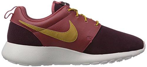 Nike Roshe Run Premium Herren Sneakers Rot (Cedar/Bronzine-Deep Burgundy 601)