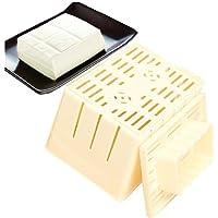 Creativo Bricolaje casera Tofu Press-Maker Mold Box Plástico cuajada de Soja Que Hace la máquina