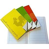4 Quaderni Speciali per disgrafia e dislessia a righe di quinta (C)