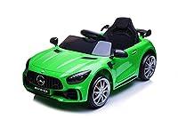 BellissimaAuto Jepp 12V Licenza Mercedes AMG GTR per bambiniFull Optional. Quest'AUTOè dotata di2 motori potentimarcia avanti e indietro. Massima sicurezza in quanto è dotata di telecomando a distanza per il controllo parentale da parte dei gen...