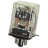 Fixate Gel Pads La hoja MK2P de usos múltiples y 120VAC relé octal, 10 mA