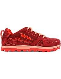 ALTRA Big Boy's AL0A4PE3 Youth Lone Peak Trail Running Shoe, Poppy - 3 M US