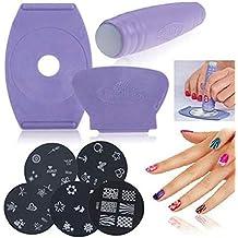 Nail impresora manicura Set bricolaje uñas máquina de arte para WomenGirls