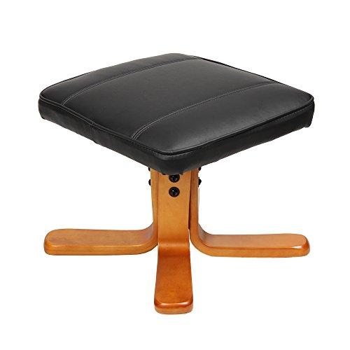 relaxsessel sessel tv wohnzimmersessel hocker beinablage fernsehsessel drehstuhl schwarz. Black Bedroom Furniture Sets. Home Design Ideas