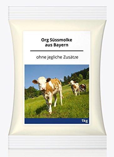 Preisvergleich Produktbild Süssmolke Pulver 1KG Süßmolke Molkepulver Naturprodukt aus Deutschland Molke Eiweiss