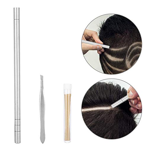 Grabado del Cabello - Delaman Professional Tattoo Pen Kit Ceja Barba Afeitado Razor Trimmer