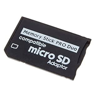 Micro SD TF to MS Pro Duo Memory Stick Adapter: Amazon.co