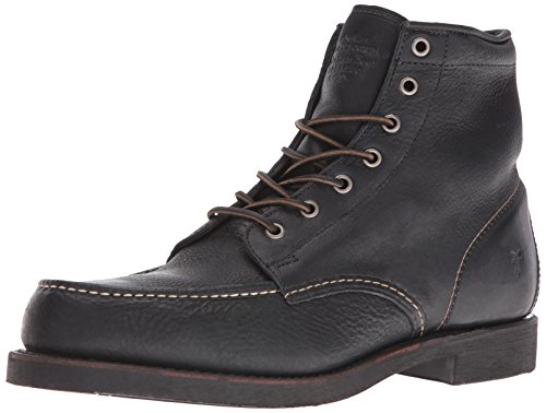 Boot Mocs Mocs (FRYE Men's Arkansas Moc Toe Boot, Black, 9 M US)