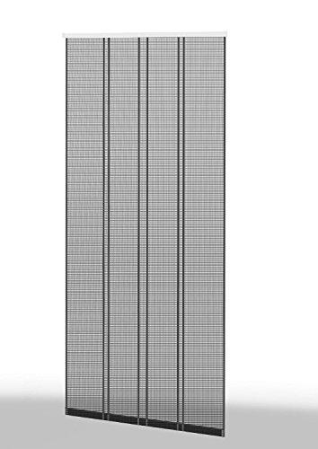 Klemm-Lamellenvorhang \'COMFORT\' Fliegengitter Insektenschutzvorhang - 100 x 220 cm