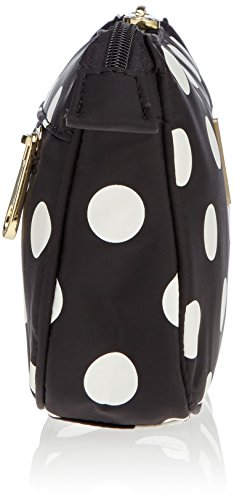 Guess - Weekend Top Zip Hold All, Borsa a mano Donna Nero (Black Multi)