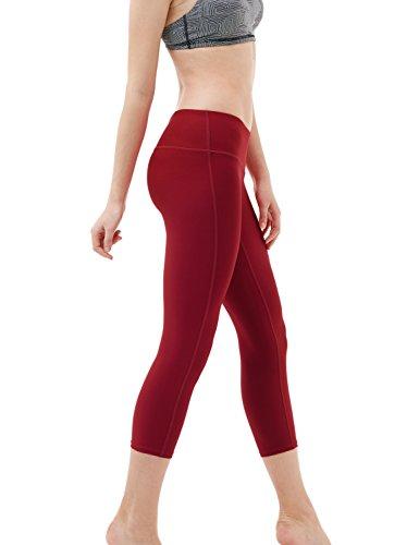 Tesla yoga 53,3cm Capri mid-waist pantaloni W tasca nascosta FYP31/FYC31 FYP31 WNE