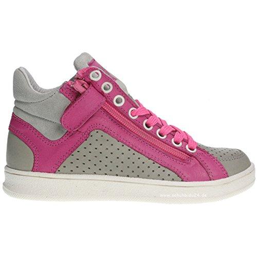 acebo S 9031caviglia scarpe-grigio/rosa, (*), 39 EU