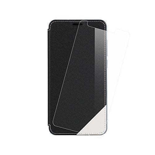 DOOGEE Y6 / DOOGEE Y6C Case, Original 2 in 1 Flip Cover Case / Hülle / Tasche/ Schutzhülle und - Beschützer Für DOOGEE Y6 / DOOGEE Y6C 5.5 Zoll Smartphone Schwarz