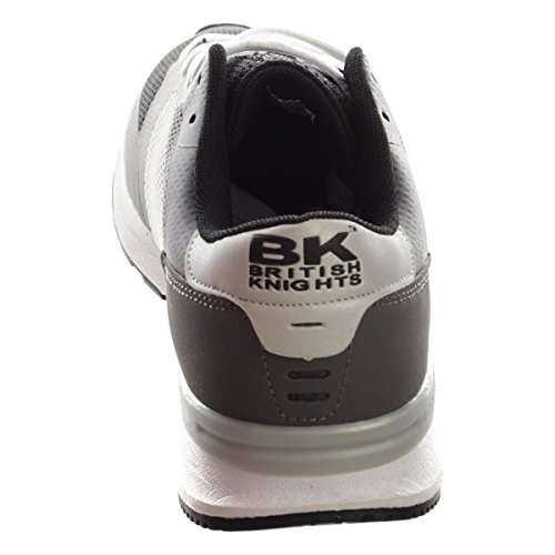 BK - Impact B36-3603-07 Black-Lt.Grey-DK Jungen Sneaker Hellgrau Herren Damen Schuhe Black-Lt.Grey-DK