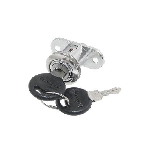 sourcingmap® Tür Schubladengriff Vierteldrehung Hardware Cam Lock mit 2 Schlüsseln
