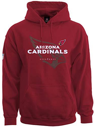 Majestic Athletic - NFL Arizona Cardinals Great Value Hoodie - red Größe XXL (Arizona Nfl Cardinals)