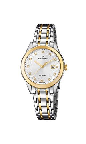 Candino Reloj Análogo clásico para Mujer de Cuarzo con Correa en Acero Inoxidable C4695/1