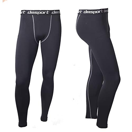 Mens-Base-Layer-Sets-Soft-Stretchy-Breathable-Workout-Compression-Functional-Thermal-Underwear