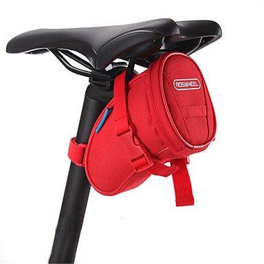 ROSWHEEL? Radfahren Sattel Rückseite Velo Rahmen Tasche Fahrrad Trunk SILLIN Bicicleta Mountain Bike BOLSA Fahrrad-Zubehör (Bicicletas Bike Mountain De)