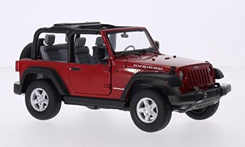 welly-22489-jeep-wrangler-rubicon-red-2007-aperta-auto-modello-in-scala-124