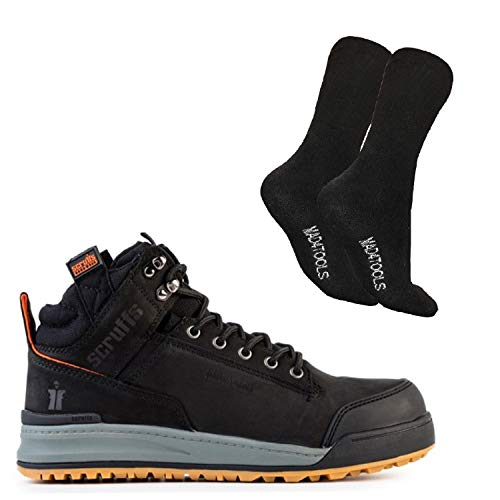 Scruffs Switchback Safety Boot and Boot Socks