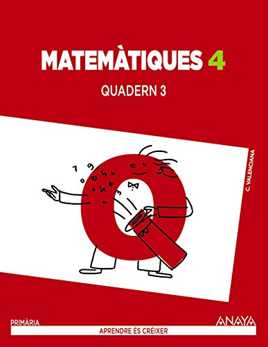 Matemàtiques 4. Quadern 3. (Aprendre és créixer) - 9788467879643