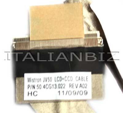 ITALIANBIZ CAVO LCD CONNESSIONE PER NOTEBOOK ACER ASPIRE 5536 5738 5738G 50.4CG13.022