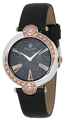 Burgmeister Women's Analogue Quartz Watch with Leather Strap BM811-122