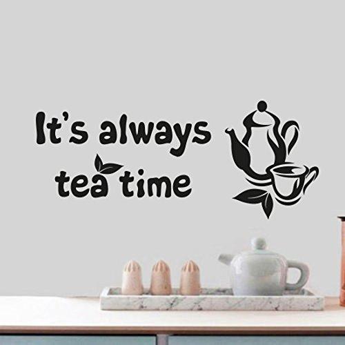 tea-time-zitat-home-wand-cup-decor-vinyl-aufkleber-aufkleber-wandbild-kunst-dekoration-kunst