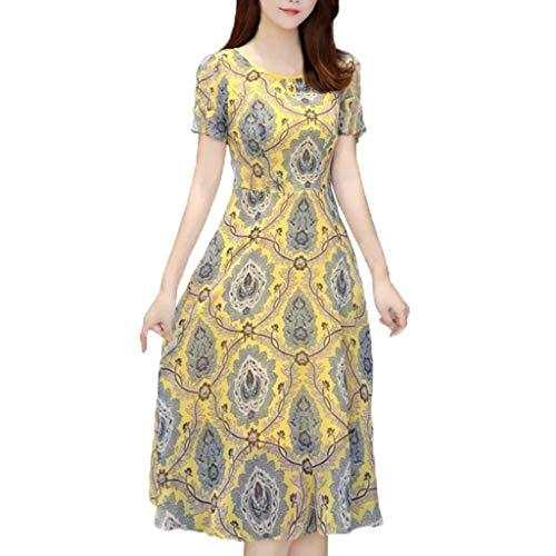 Sexy Maternity Kostüm - Damen Kleid Vintage Short Petal Sleeve Slash-Neck Mittelalterlichen Kleid Cosplay Kleid mit Trompetenärmel Mittelalter Party Kostüm Kleidung Partykleider