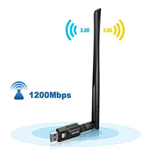 Inamax 4332804407 USB 3.0 802.11a/b/g/n/ac Wi-Fi Adapter