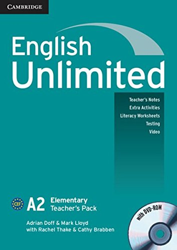 English Unlimited A2: Elementary. Teacher's Pack with DVD-ROM