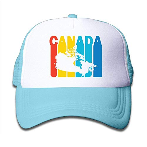 92d4f6289821ee mchmcgm - Mütze Youth Boy and Girls Baseball Caps,Canada Retro 1970's Style  Air Mesh
