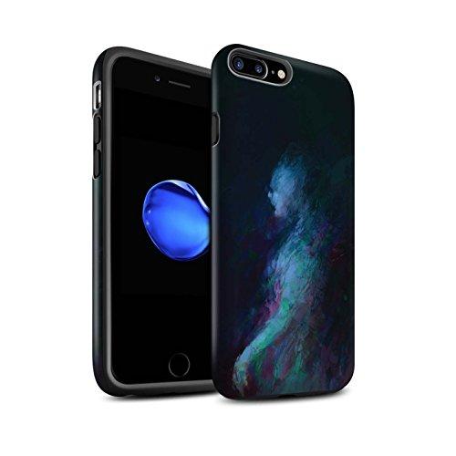 Offiziell Chris Cold Hülle / Matte Harten Stoßfest Case für Apple iPhone 8 Plus / Drachen/Finsternis Muster / Dunkle Kunst Dämon Kollektion Geist/Ghul
