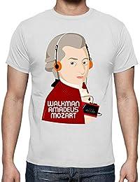 latostadora - Camiseta W Amadeus Mozart para Hombre