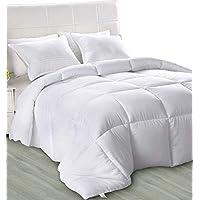 Utopia Bedding - Primavera-Verano Edredón de Fibra - Fibra Hueca Siliconada, 1050 gramo (Primavera-Verano, Cama 135/150)