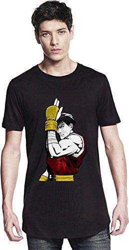 Graphic Guy Illustration Long T-shirt Small