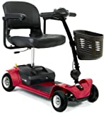 Pride Go Go Ultra X 4mph Portable Travel Car Boot Mobility Scooter - Red