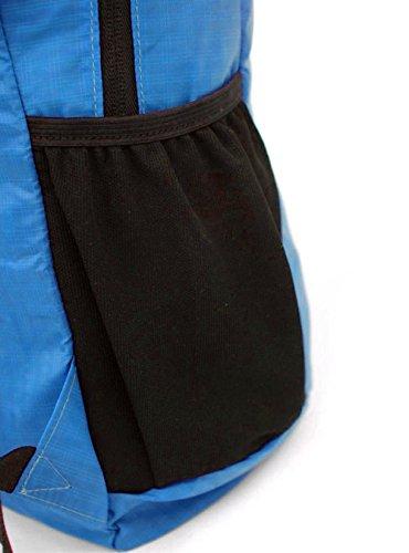 30L Tasche Rucksäcke Rucksack Daypack Bag Rucksack Backpack wasserdicht faltbarer einfach leicht geeignet für alle Damen und Herren und Kindern für Sport Arbeit Blau