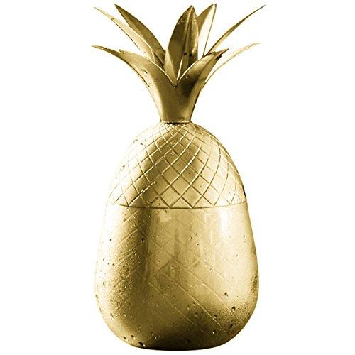 (Ananas Tumbler cocktaill Tasse Handarbeit Trinken Tassen, 12oz gold)