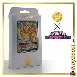 Ultra-Necrozma-GX 127/131 Full Art - #myboost X Sonne & Mond 6 Grauen Der Lichtfinsternis - Box de 10 Cartas Pokémon Aleman