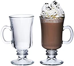 Genware nev-cg-08 Irish Coffee Glas, 23 cl/8 Oz (Pack von 6)