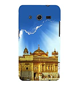 printtech Golden Temple Punjab Back Case Cover for Samsung Galaxy Core 2 G355H