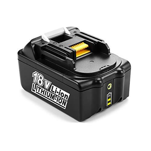 Energup 18V 5.0Ah Lithium-Ionen Ersatz BL1850 Akku für Makita BL1850 BL1840 BL1830 BL1820 BL1815