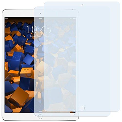 mumbi Schutzfolie kompatibel mit Apple iPad Pro 10,5 Zoll Folie klar, Displayschutzfolie (2x)