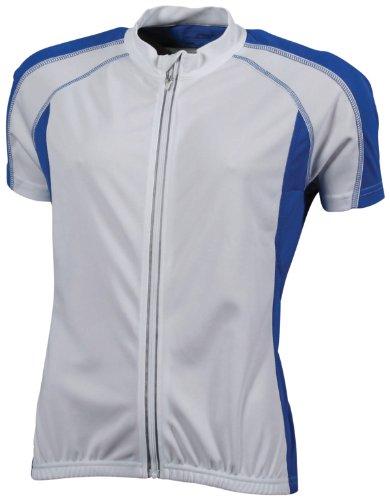James & Nicholson Damen T-Shirt White/Royal
