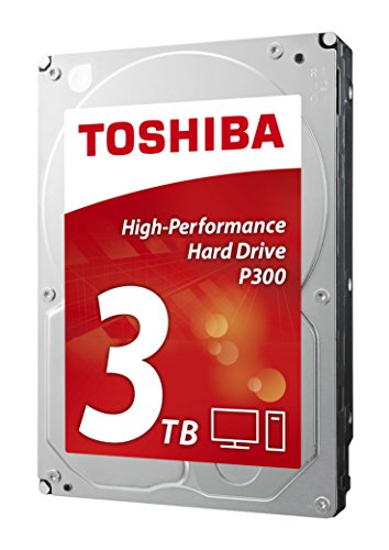 Toshiba P300 High Performance 3TB Internal Hard Drive (Bulk) 3.5 Inch SATA - HDWD130UZSVA Test
