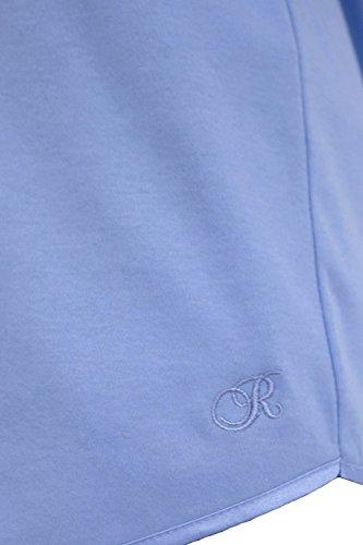Rösch Shorty mit Satindetail Bleu